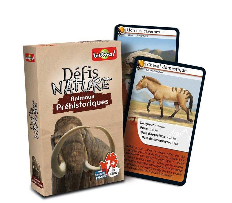 Defis Nature / Animaux prehistoriques