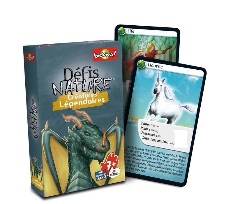 Defis Nature / Creatures legendaires