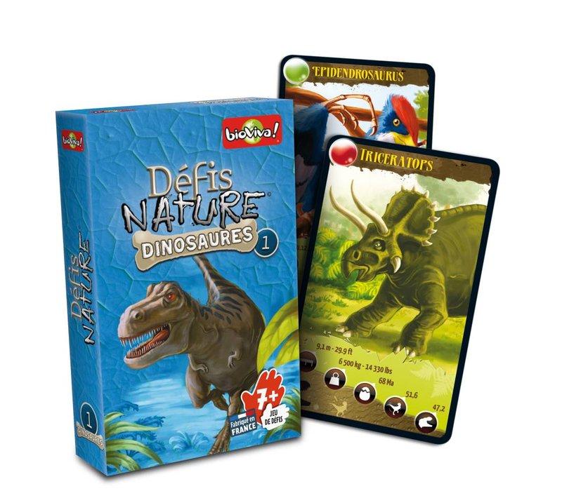 Defis Nature / Dinosaures 1 (bleu)