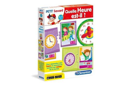 Clementoni Petit Savant : Quelle heure est-il?