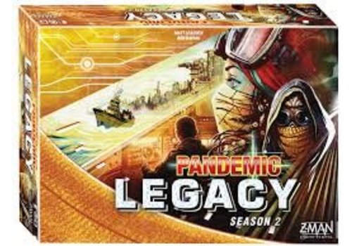 Pandémie Legacy Jaune