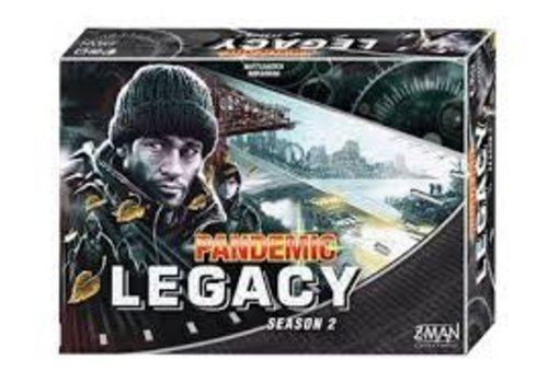 Pandemie Legacy noir