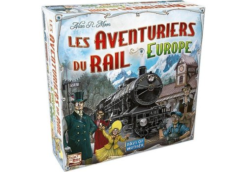 Days of Wonder Les aventuriers du rail Europe