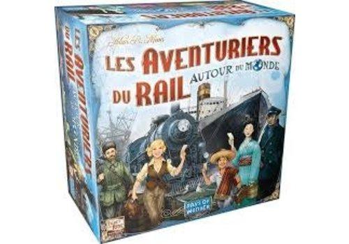 Days of Wonder Les aventuriers du rail autour du monde