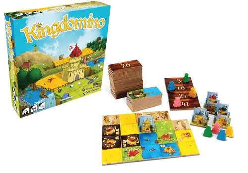 Blue Orange Kingdomino (multilingue)