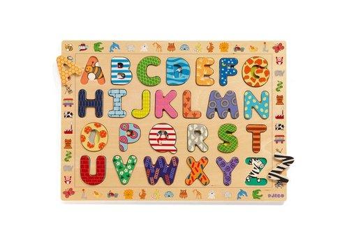 Djeco Puzzle bois / ABC / 26 pcs