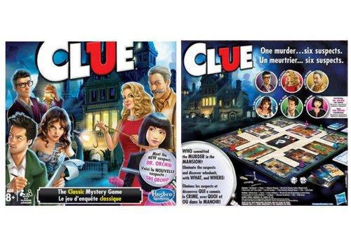 Hasbro Clue le jeu d'enquête