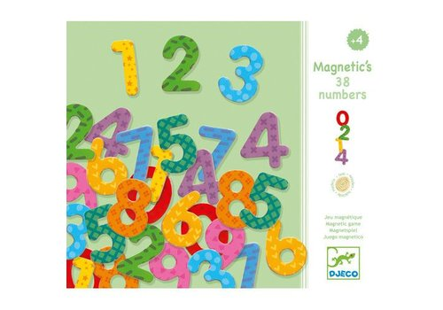 Djeco Magnetic's / 38 nombres