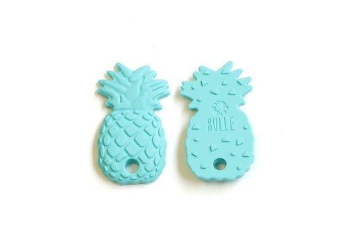 Jouet de dentition : Ananas Turquoise