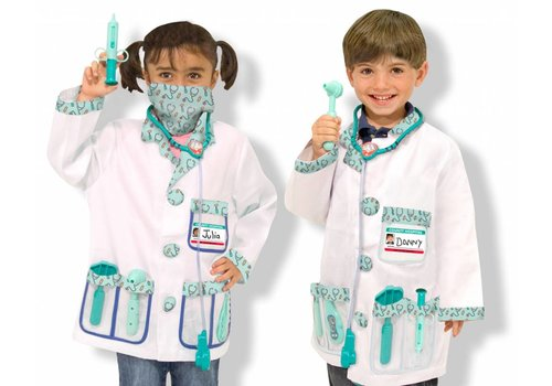 Melissa & Doug Doctor Role play set  3-6 yrs