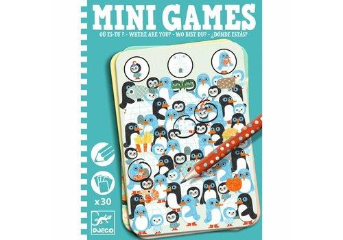 Djeco Mini games / Ou es-tu? (Cherche et trouve)