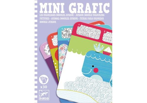 Djeco Mini grafic / Doodle junior (Mini-mandalas)