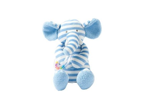 Giggle Soft Small Elephant Ring Rattle