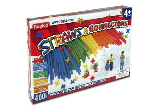 Straws and Connectors, 400pkg
