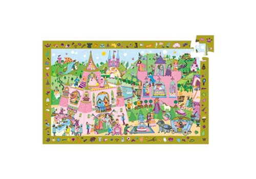 Djeco Puzzle observation / Princesses / 54 pcs