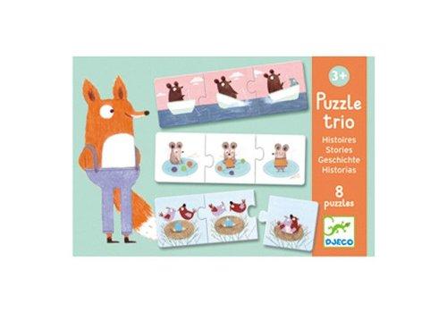 Djeco Puzzle trio / Histoires