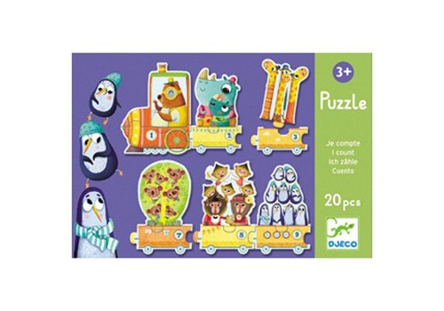 Djeco Puzzle duo / I count