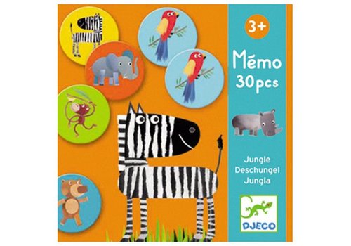 Djeco Memo Jungle