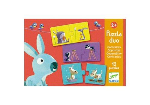 Djeco Puzzle duo / Contraires