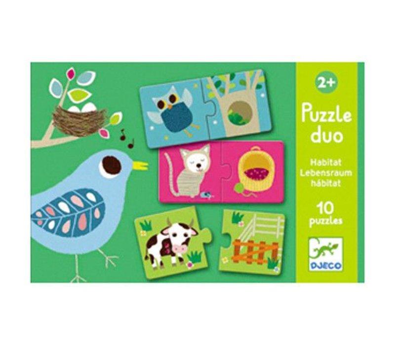 Puzzle duo / Habitat