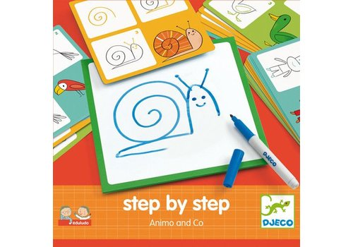 Djeco Eduludo / Step by step animaux