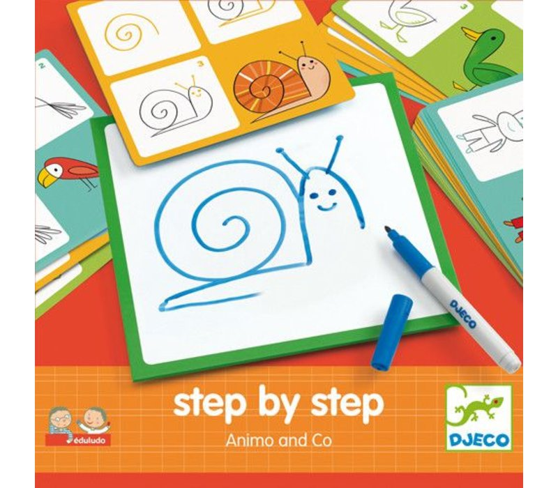 Eduludo / Step by step animaux