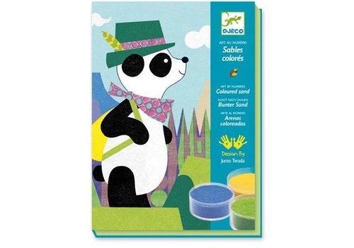 Djeco Sables colores / Panda et ses copains