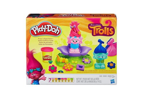 Play-Doh Trolls Salon de coiffure mode