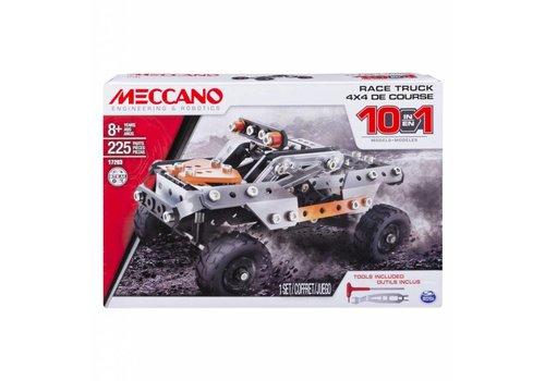 Meccano - Ensemble 10 modèles - 4x4 de course