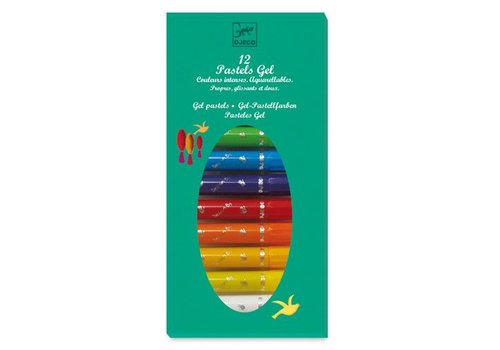 Djeco 12 pastels gel / Classique