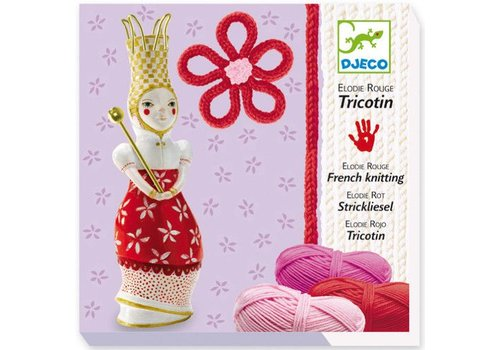Djeco Tricotin / Elodie rouge