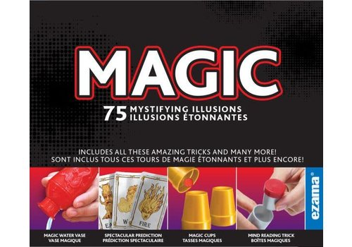 Ezama Magic 75 tours - Ensemble de magie 75 tours bilingue