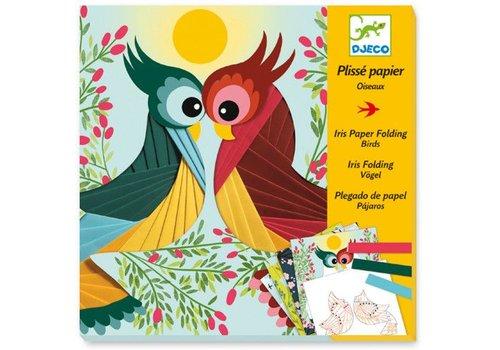 Djeco Plisse papier / Oiseau