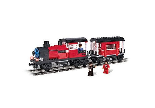 Locomotive et wagon 5 en 1