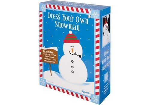 Ensemble pour bonhomme de neige - Dress A Snowman Kit