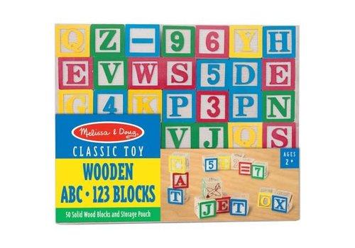 Melissa & Doug Wooden ABC / 123 Blocks