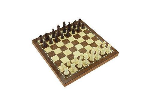 Jeu d'échecs pliant magnétique 29 cm