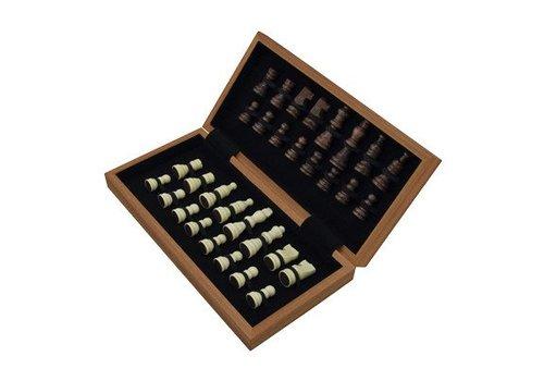 Jeu d'échecs pliant avec lettres 29 cm