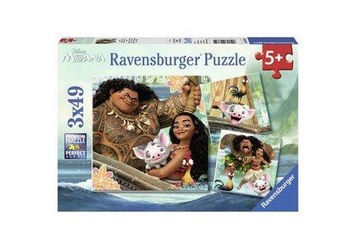 Ravensburger La légende du bout du monde (3 x 49 pc)