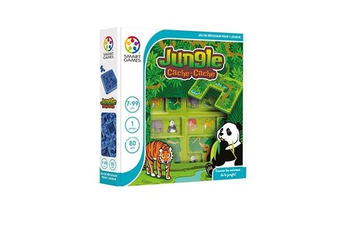 Smart Games Cache-Cache jungle (FR.)