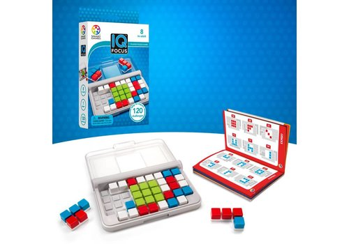 Smart Games Jeu IQ : Focus (mulitlingue)