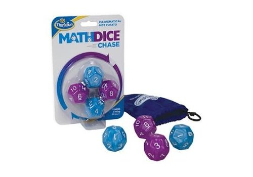 ThinkFun MATH DICE CHASE (Mult.)