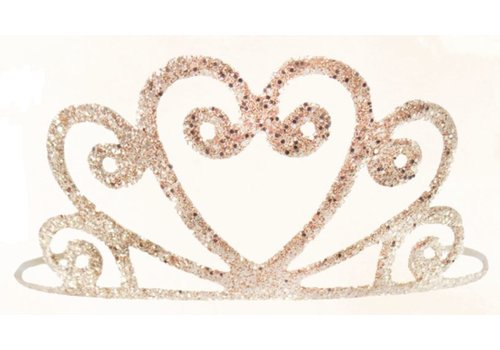 creative education Gold Glitter Tiara