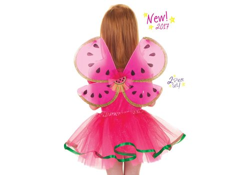 creative education Watermelon Skirt and Wings  Size 4-7