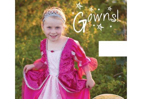 creative education Royalty Princess Dress. Fuchsia. Size 5-6