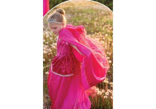 creative education Royalty Princess Cape. Fuchsia. Size 5-6