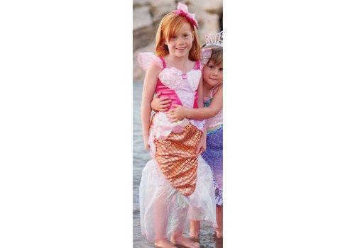 creative education Pink Mermaid Dress & Headband. Pink. Size 5-6