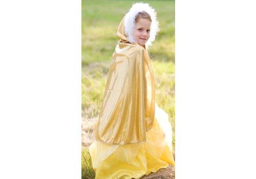 Gold Glitter Cape. Gold. Size 5-7