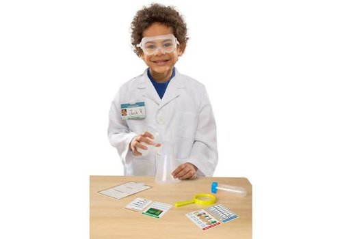 Melissa & Doug Costume de scientifique