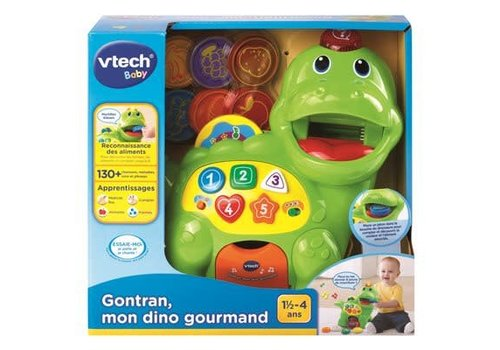Vtech Gontran. mon dino gourmand